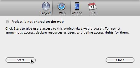 Web publish