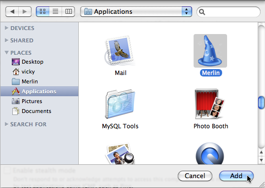 add Merlin in exceptions